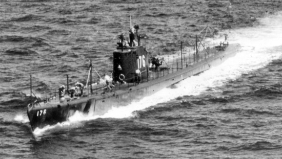 The submarine USS Perch, SS-176, was discovered while searching for HMS Exeter