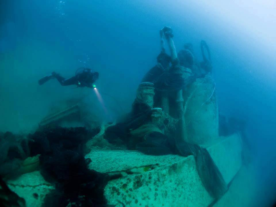 The story of the lost U Boats of the Black Sea: Scuba diving at an
