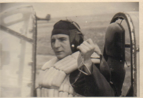 Fritz Eisenbach in Megara airfield 1943 in his Ju 87 Stuka