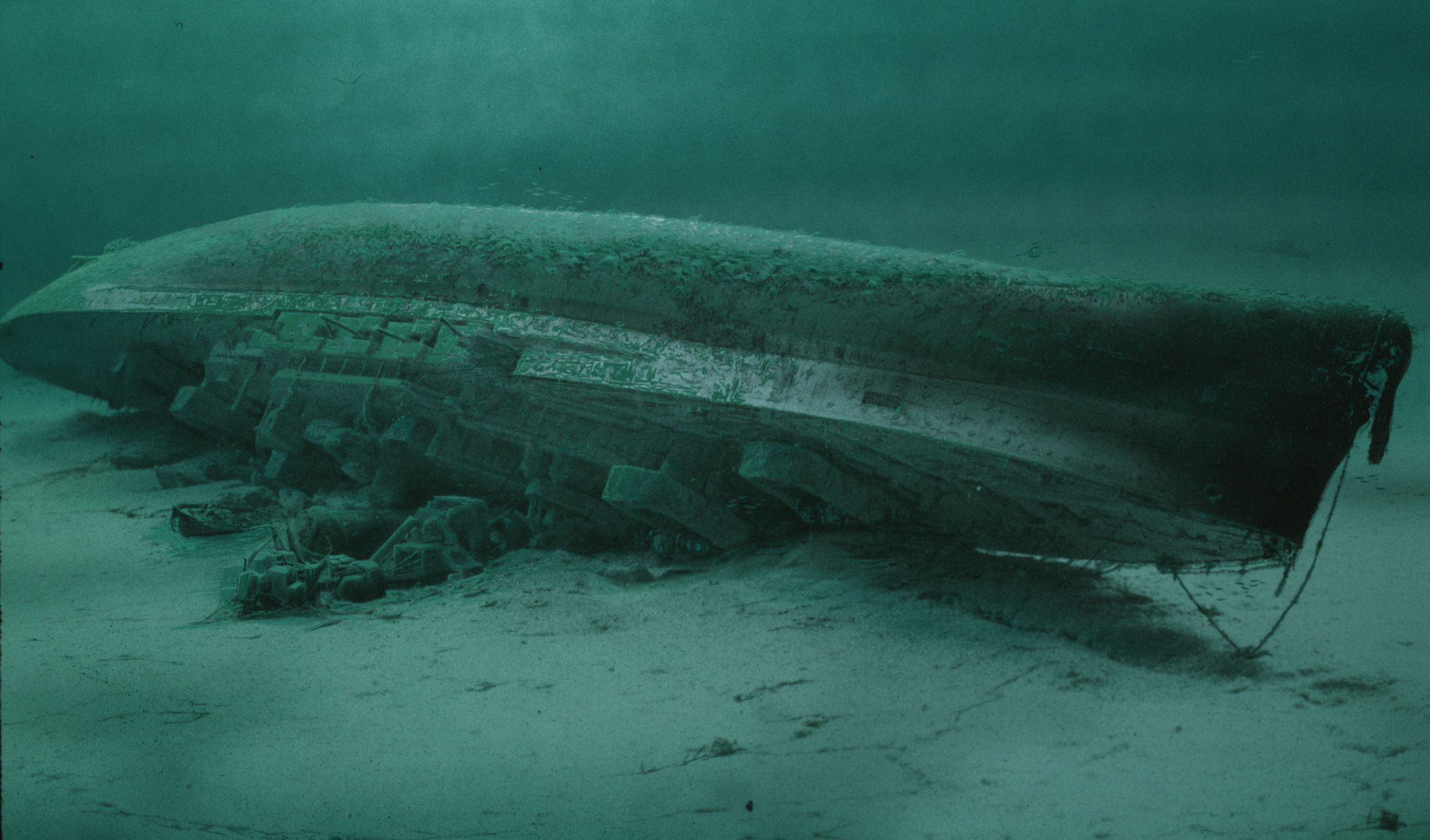 Royal Oak Seabed. HMS Royal Oak. Scapa Flow