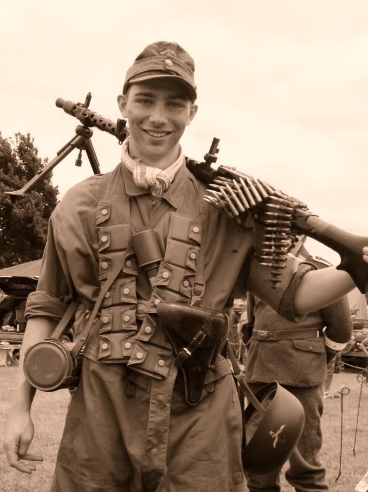 German MG 34 machinegunner.
