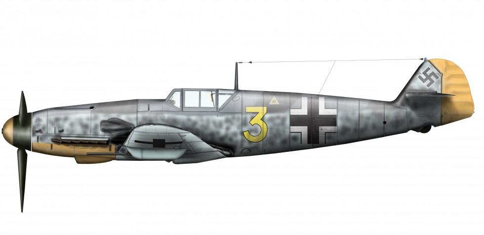 Messerschmitt-Bf-109-Tegning-Bengt-Stangvik-980x475