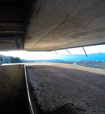 View from the bunker
