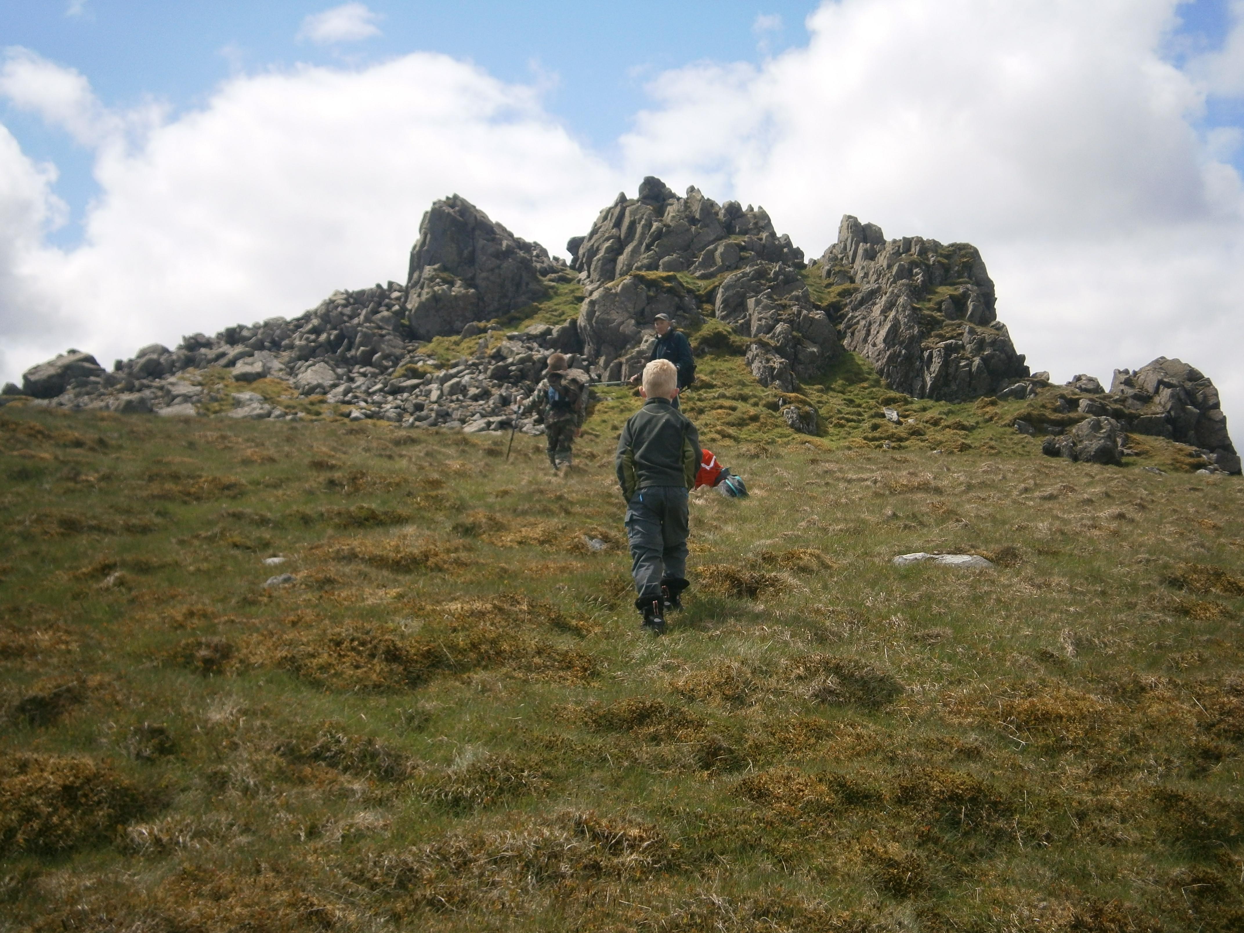 Approaching Braydon Crag