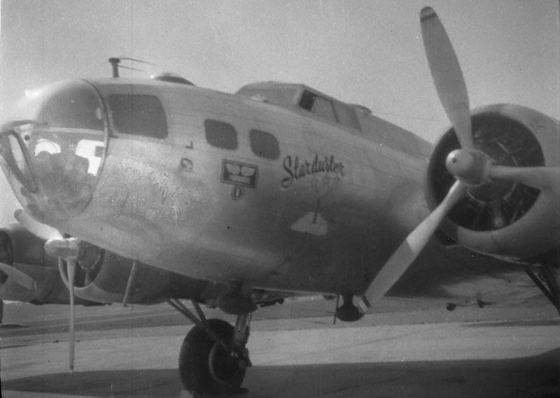 B-17G 44-6393 Dick Kamm at Keesler Field 1947