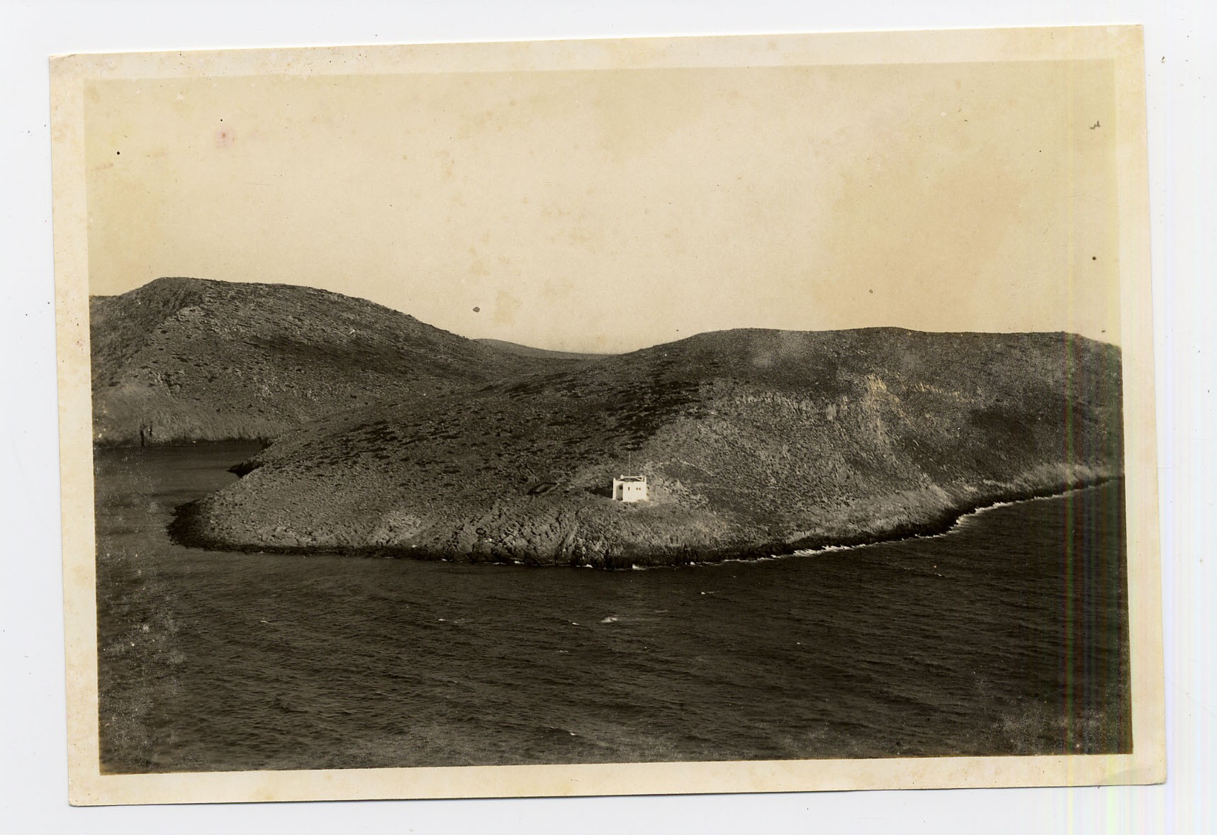 The Italian lighthouse of Levitha in a prewar photo