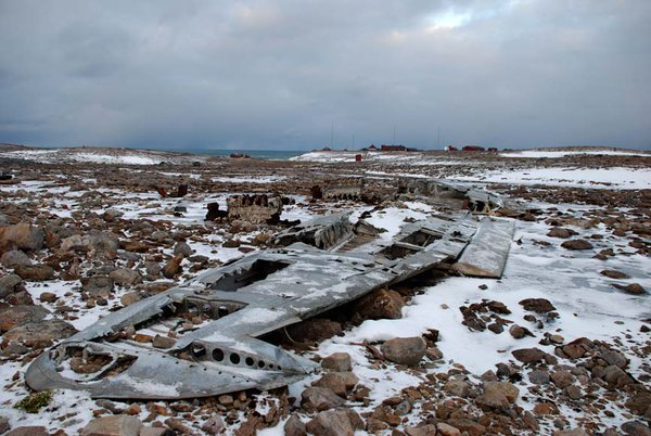A Ju-88 wreck in Norway Photo Credit: http://bjornoya.blogspot.gr/2010/10/junkers-ju88a-4.html?m=1