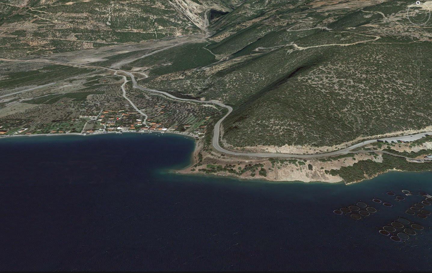 The same area today, via Google Maps