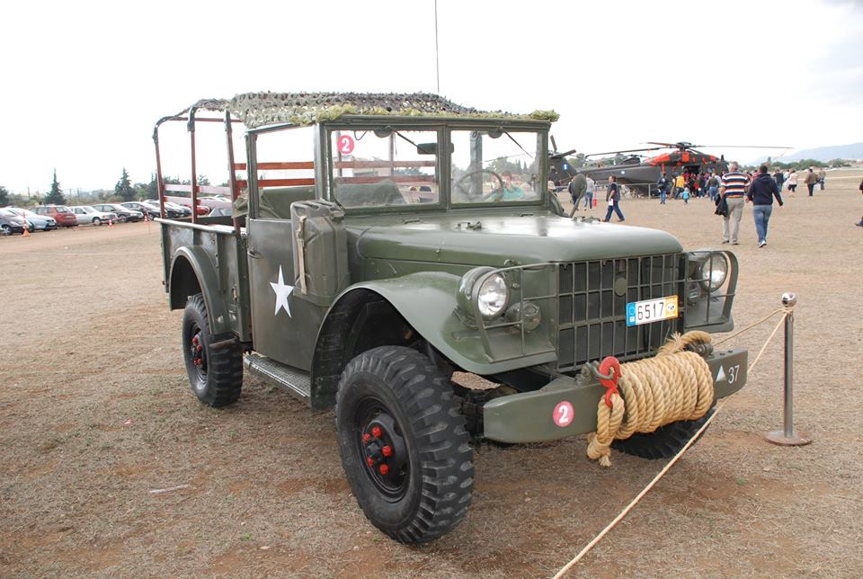 A Dodge M37 3⁄4-ton 4×4 truck fully restored to its former ...