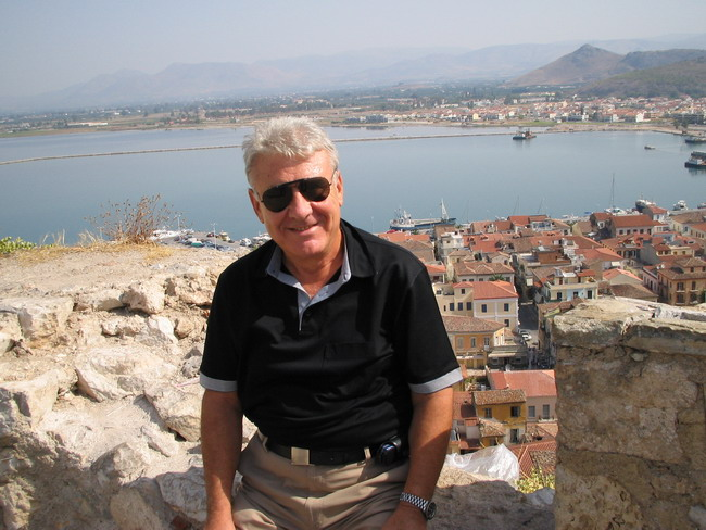 Byron in Nafplio