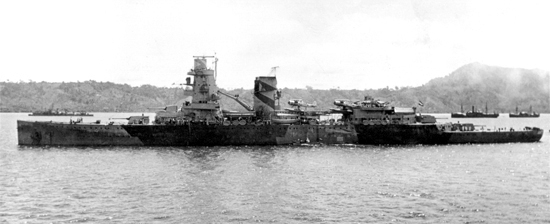 Hr Ms De Ruyter off Sumatra 1942