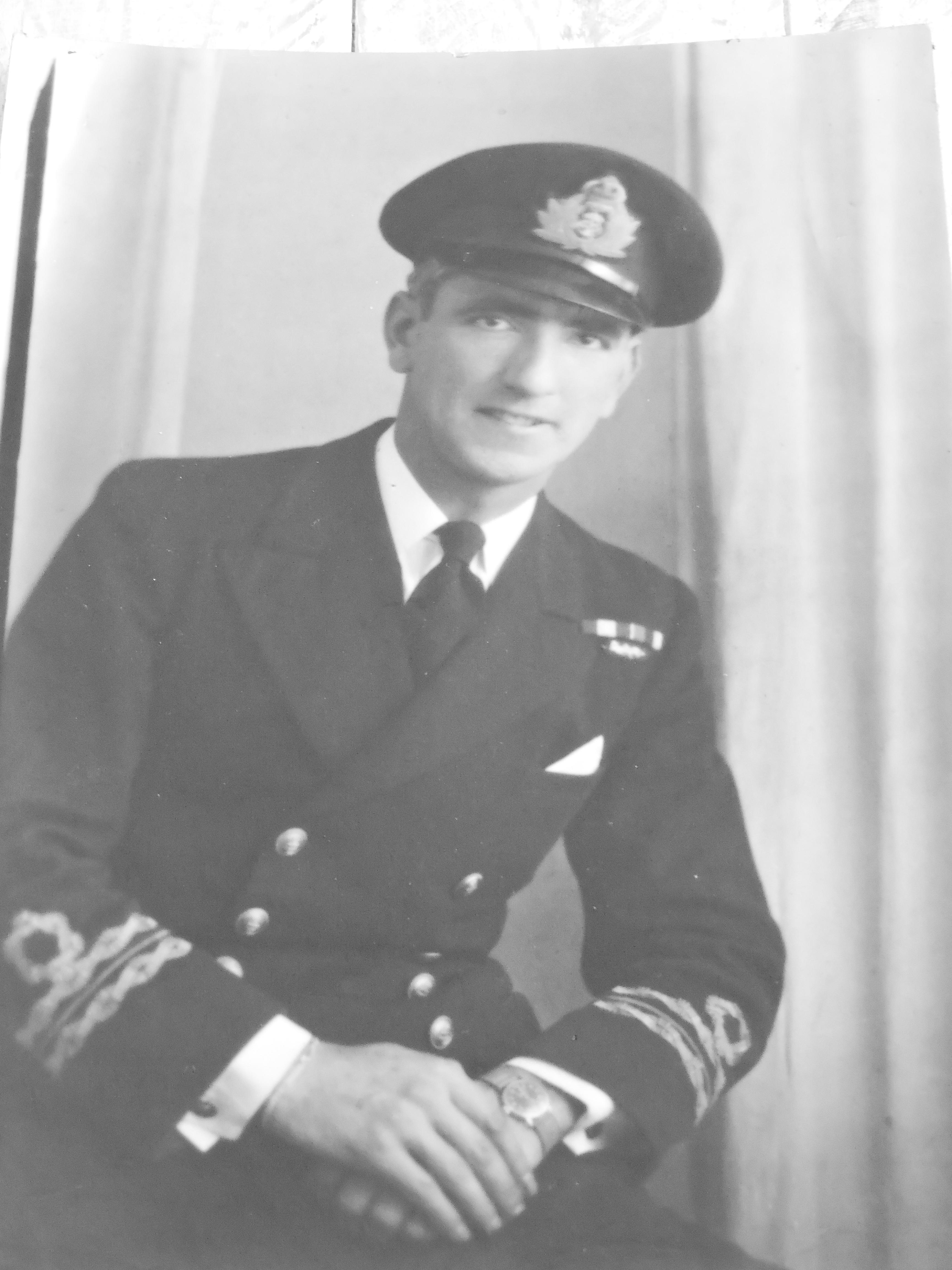 HMS Keats Captain N.F. Israel (T/A/Lt.Cdr. , DSC, RNR)