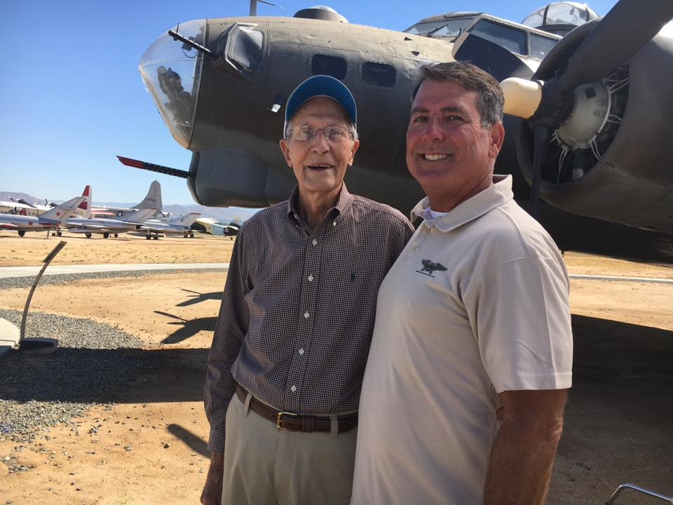Earl Williams who flew into Pearl Harbor on B-17C 40-2074 on December 7th 1941