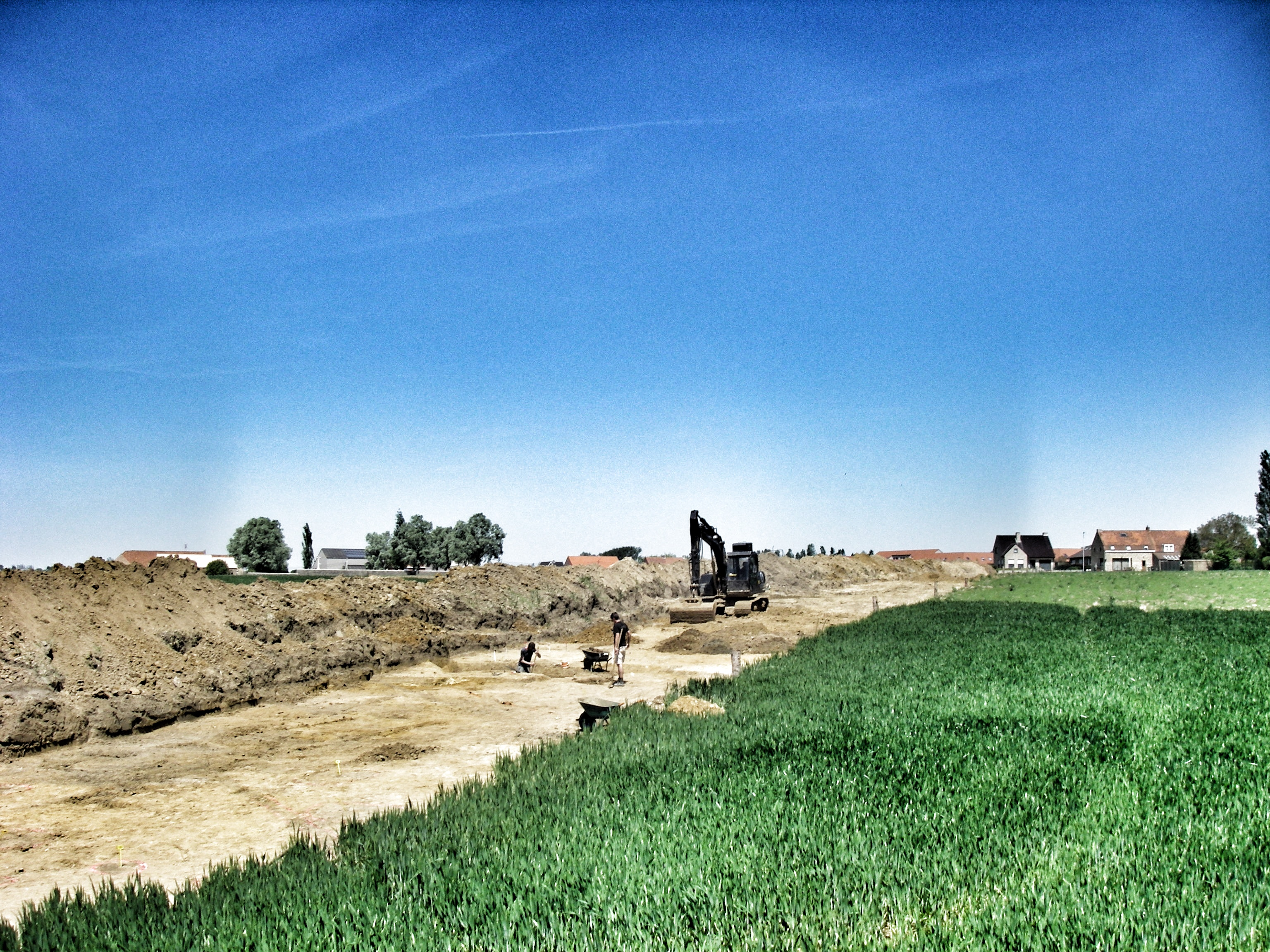 Messines - Excavation action - copyright ADEDE