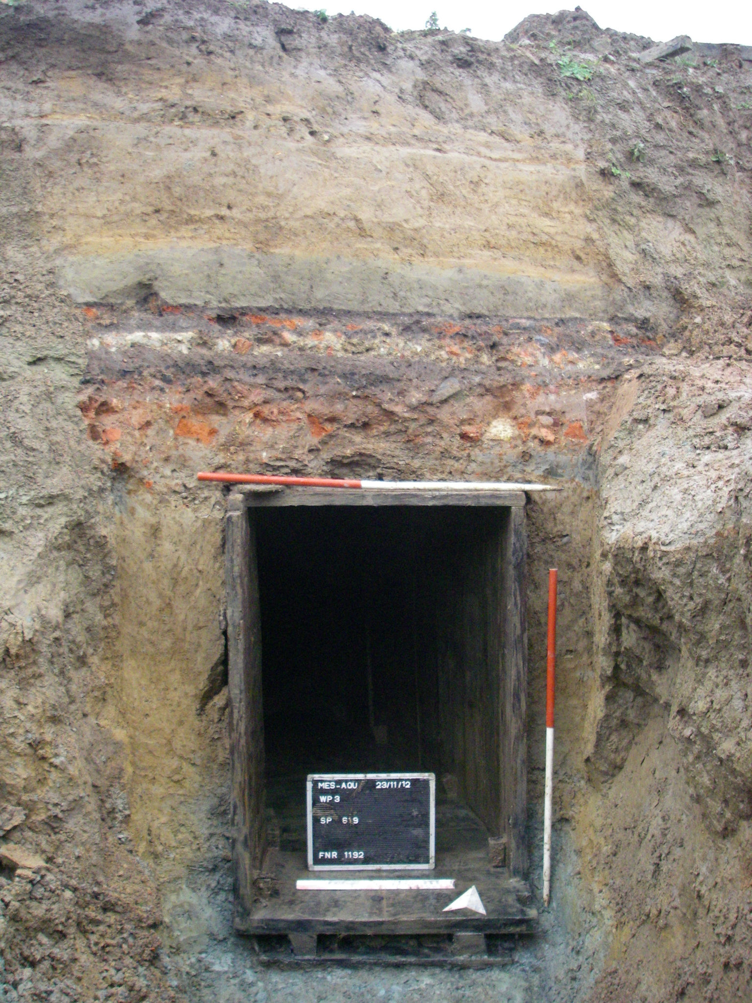 Messines - German tunnels - copyright ADEDE