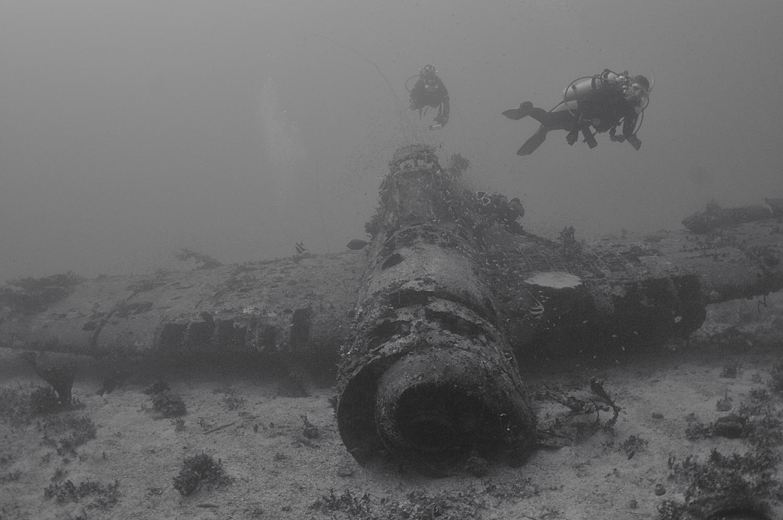 Jake #1 aircraft wreck