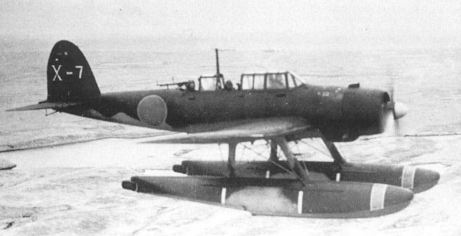 """An E13A-3 """"jake"""" in flight"""