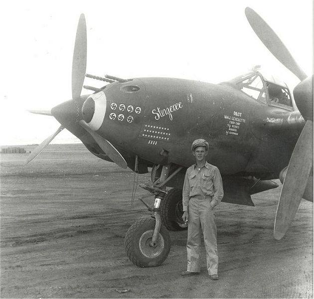 Army Air Corps Colonel William L. Leverette was one of only two American pilots in World War II to score seven victories in a single encounter with the enemy. SOURCE: https://www.tigernet.com/forum/thread/Clemsons-Military-History-441660