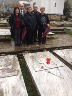 Μετά από 77 χρόνια η πρώτη επίσκεψη συγγενών του ήρωα του'40, Κων/νου Τσιώκου από την Καστανιά Ευρυτανίας