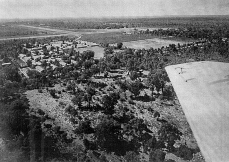 RAAF Base aerial view