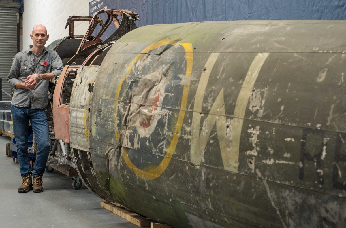 Aviation Archaeology – Bringing to life a legend: WW2