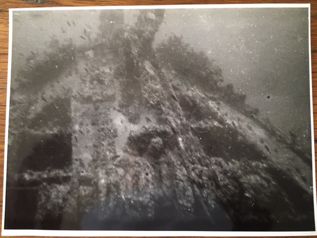 Photo of the wreck by Ahmet Adaş