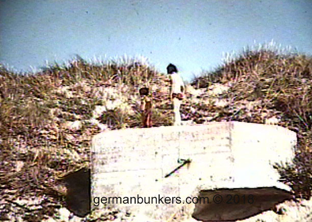 (My brother and myself exploring one of the German bunkers in Lokken, Denmark during the 1970's.)