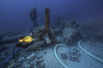 B-24 J and ROV. Brett Seymour