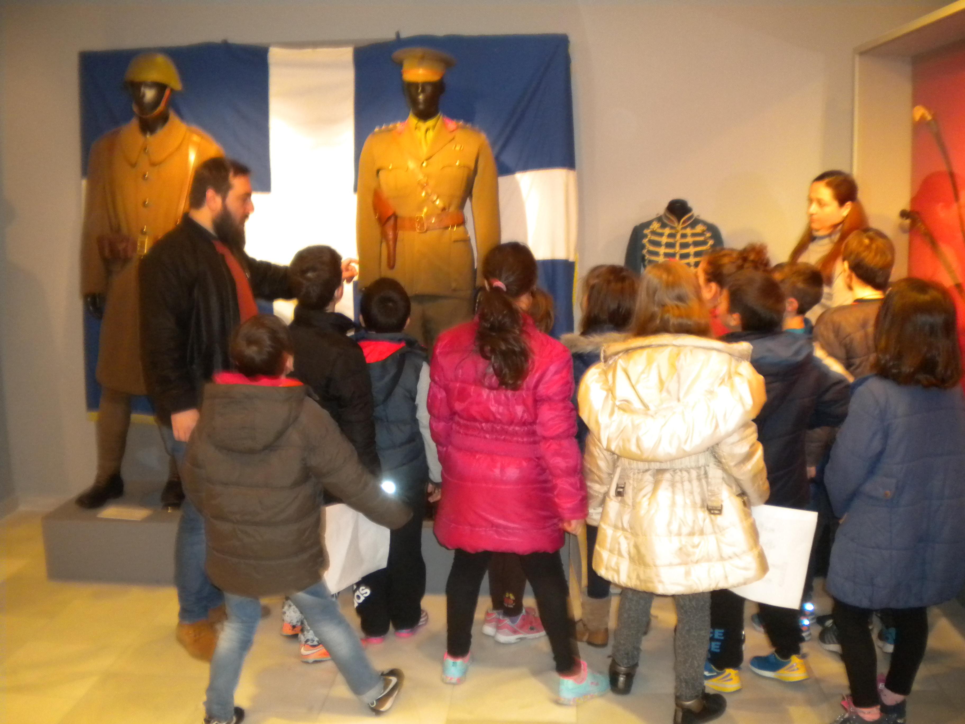Μαθητές σχολείων επισκέπτονται το ΙΣΤΟΡΙΚΟ ΠΑΝΟΡΑΜΑ