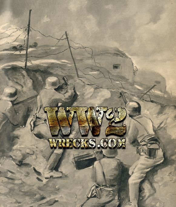 Καλλιτεχνική απεικόνιση της Μάχης των Ουρών, από γερμανικό προπαγανδιστικό έντυπο