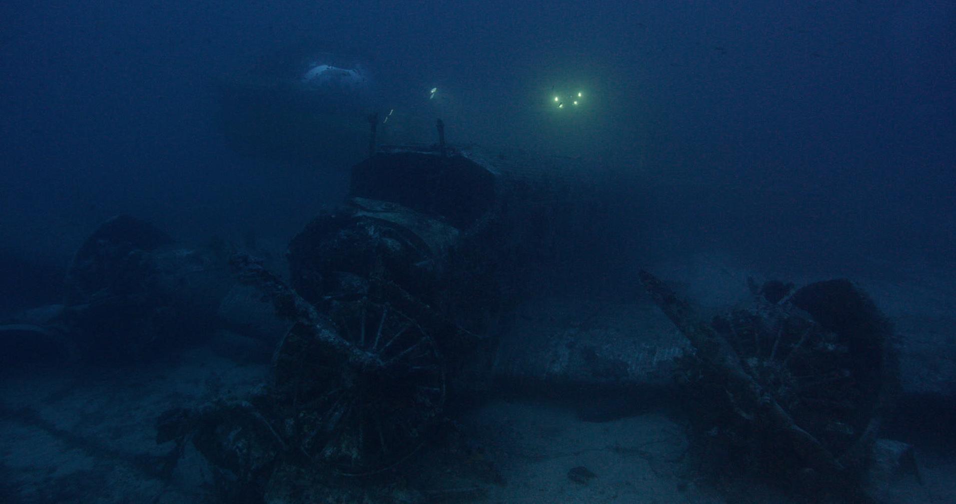 The Ju 52 wreck