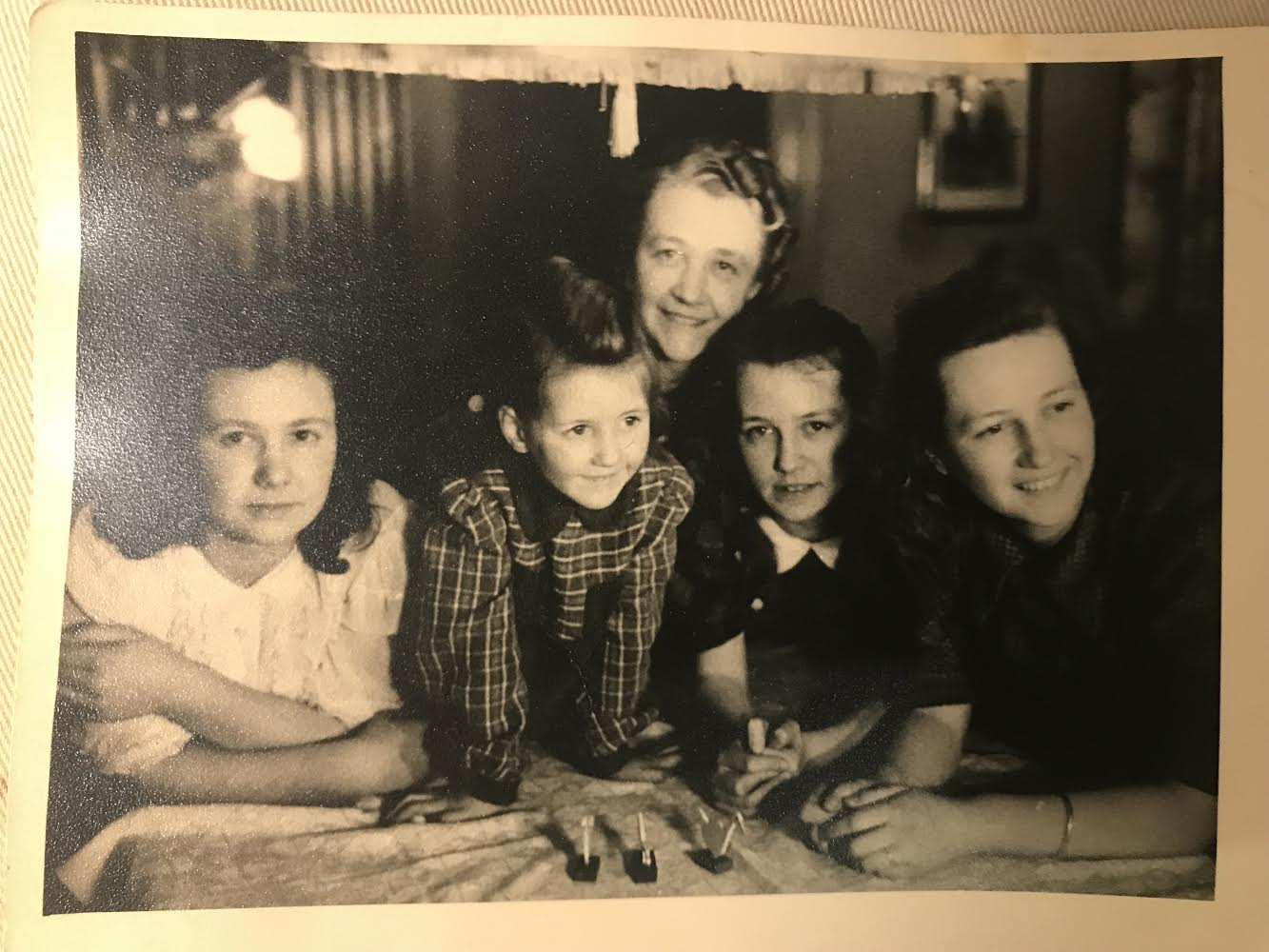 William McGowan's grandmother and three children, including his mother Ilse