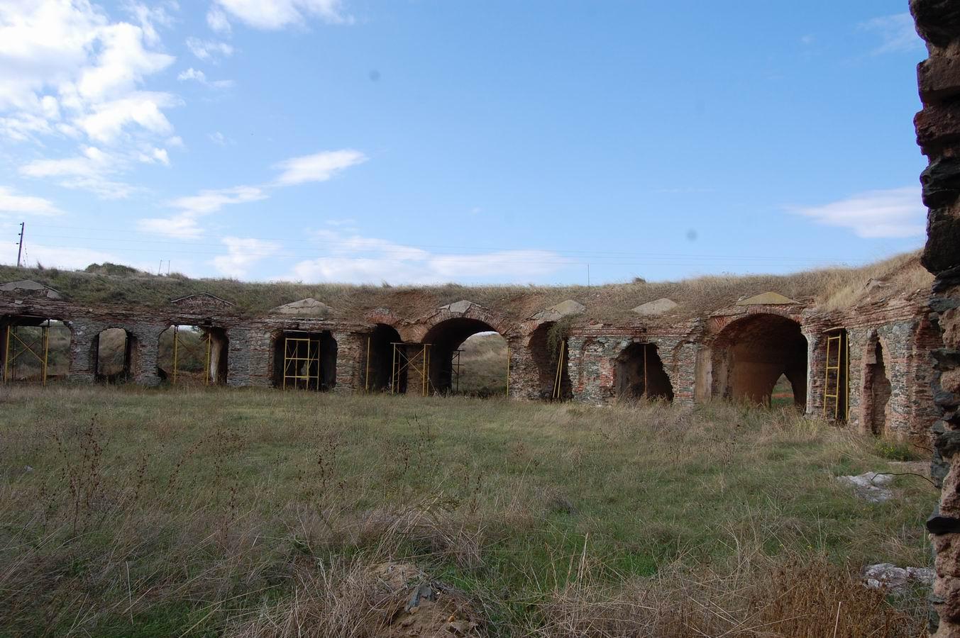 ΚΑΡΑΜΠΟΥΡΝΟΥ οχυρο 1880-εσωτερικη πλευρα 7