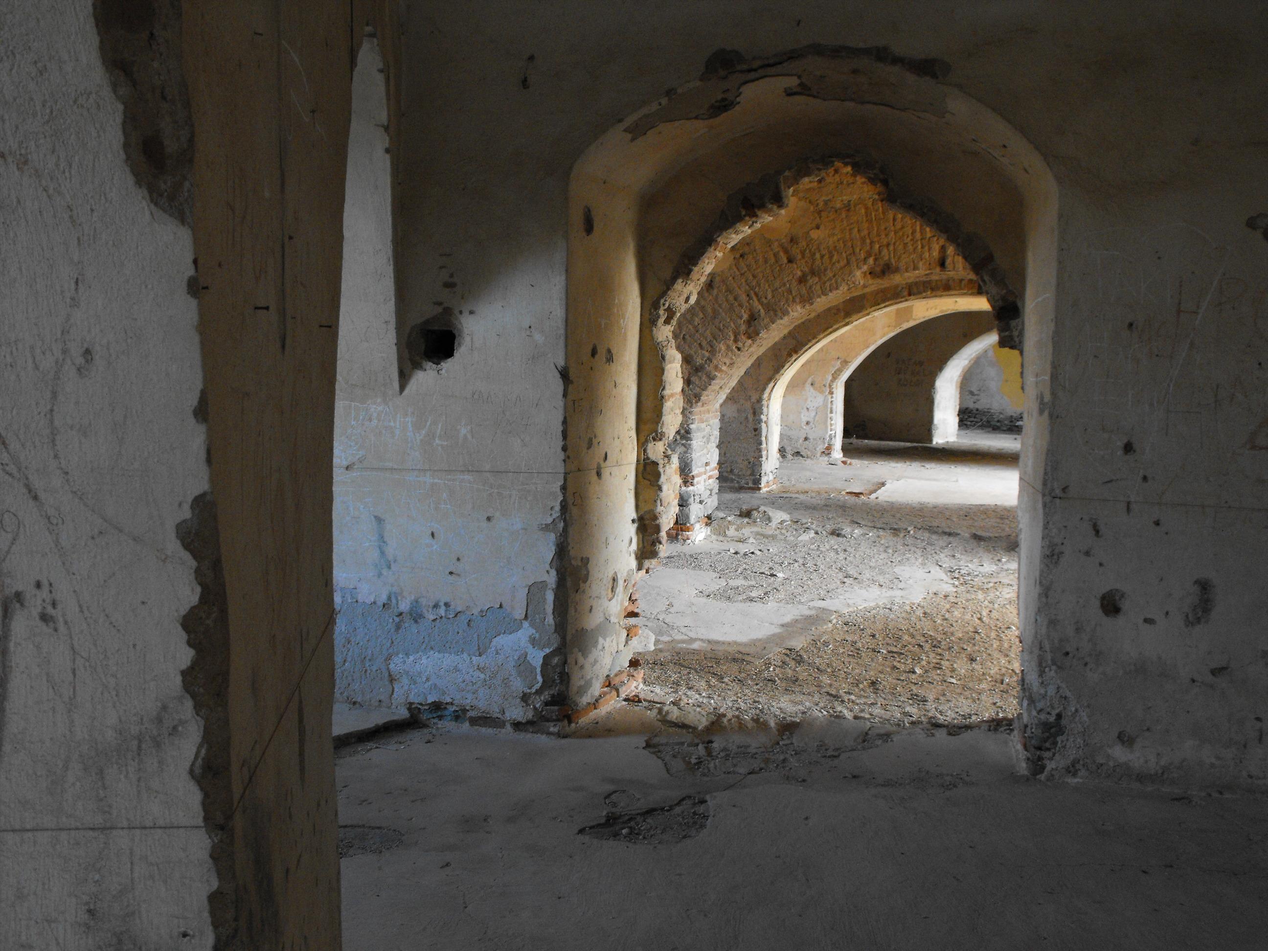 ΚΑΡΑΜΠΟΥΡΝΟΥ οχυρο 1880- εσωτερικο 11