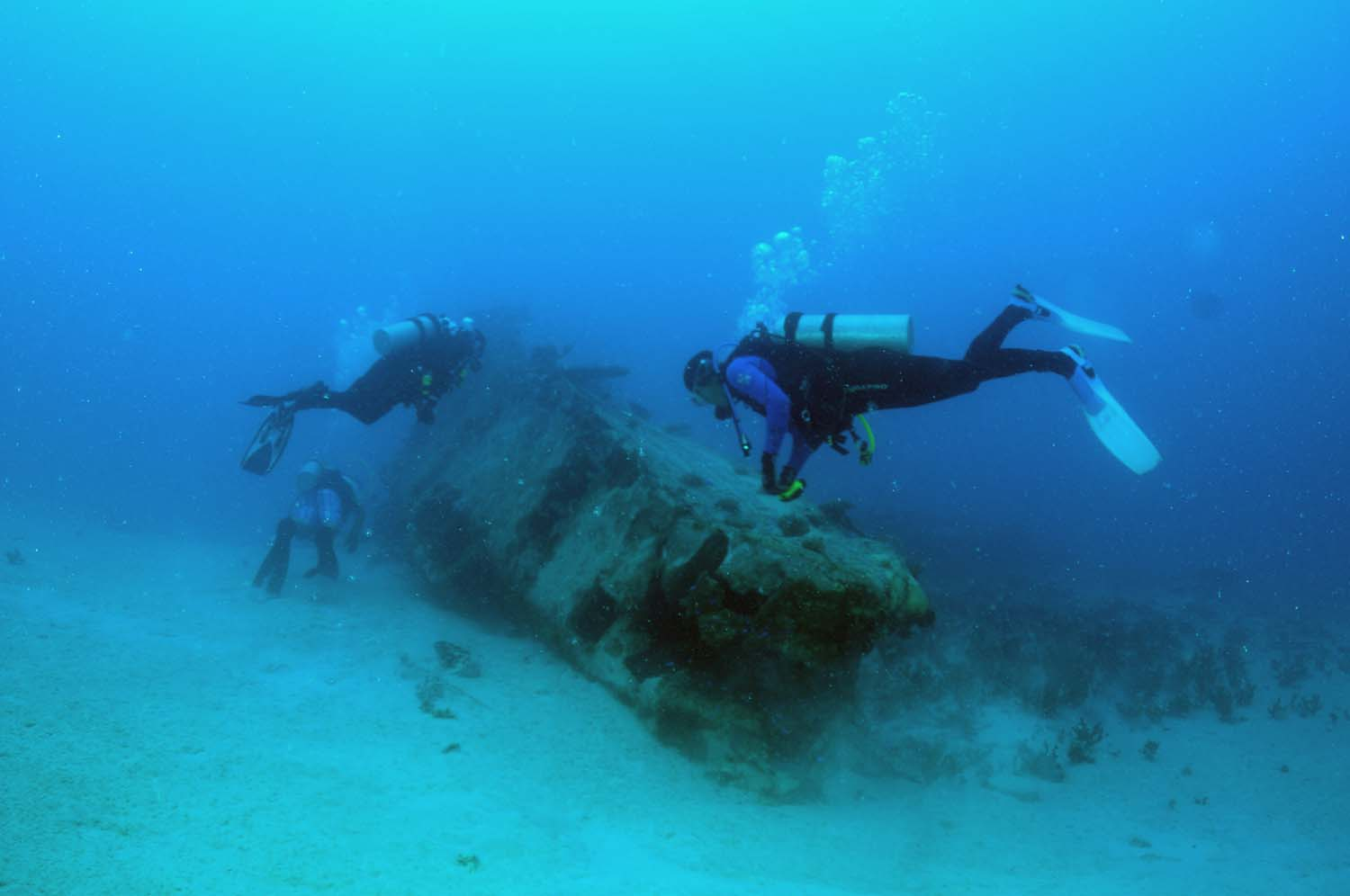 Knowing the story behind each wreck is what is important, as the diver is able to reconstruct the story behind the rusted metal