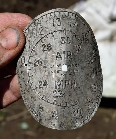 Air speed indicator dial