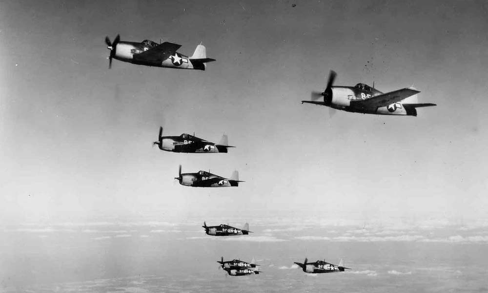 F6F-3_Hellcat_formation