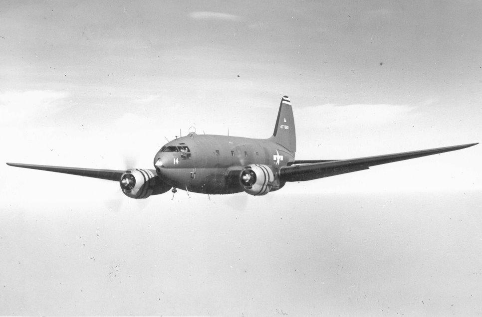 The Commando was a double engine heavy duty aircraft.
