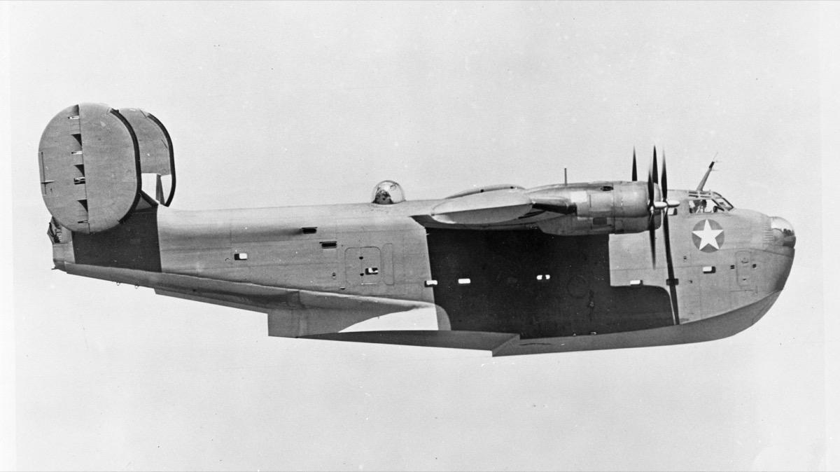 A Coronado in flight