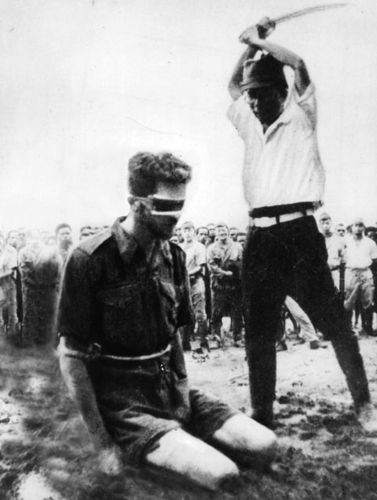 Mick's mates met a similar fate to Leonard Sifleet, beheaded by the Japanese.