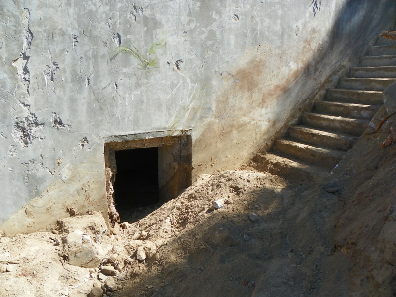Bunker entrances are seeing the light, after decades