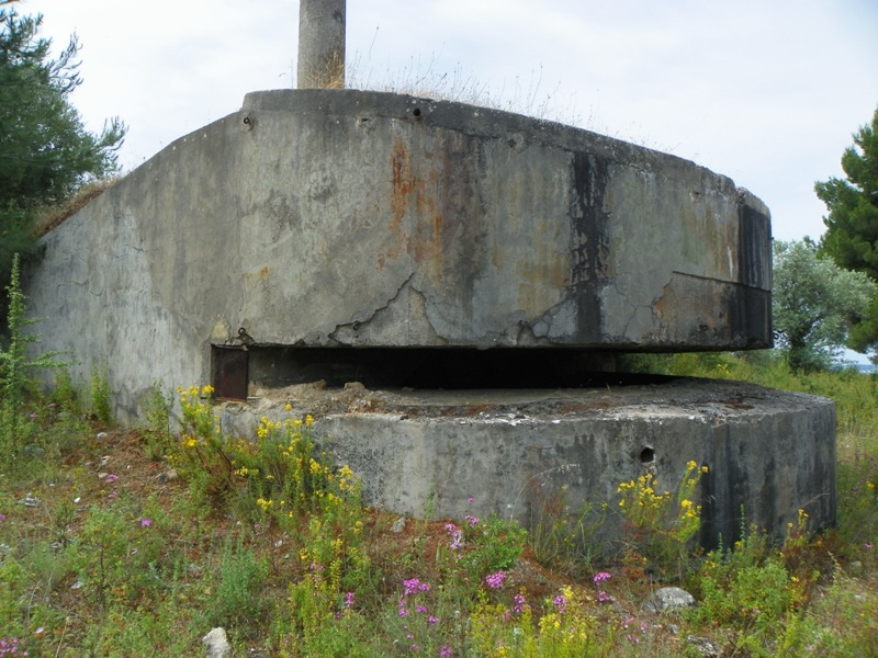 An artillery observation post