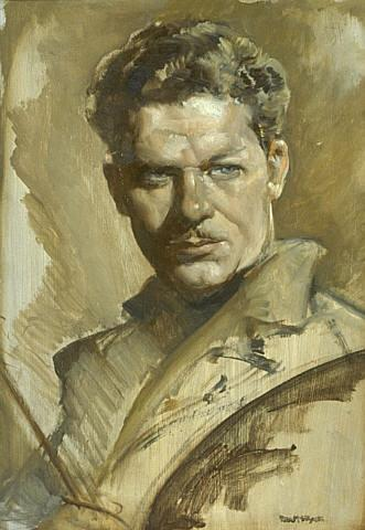 Self-portrait of Peter McIntyre