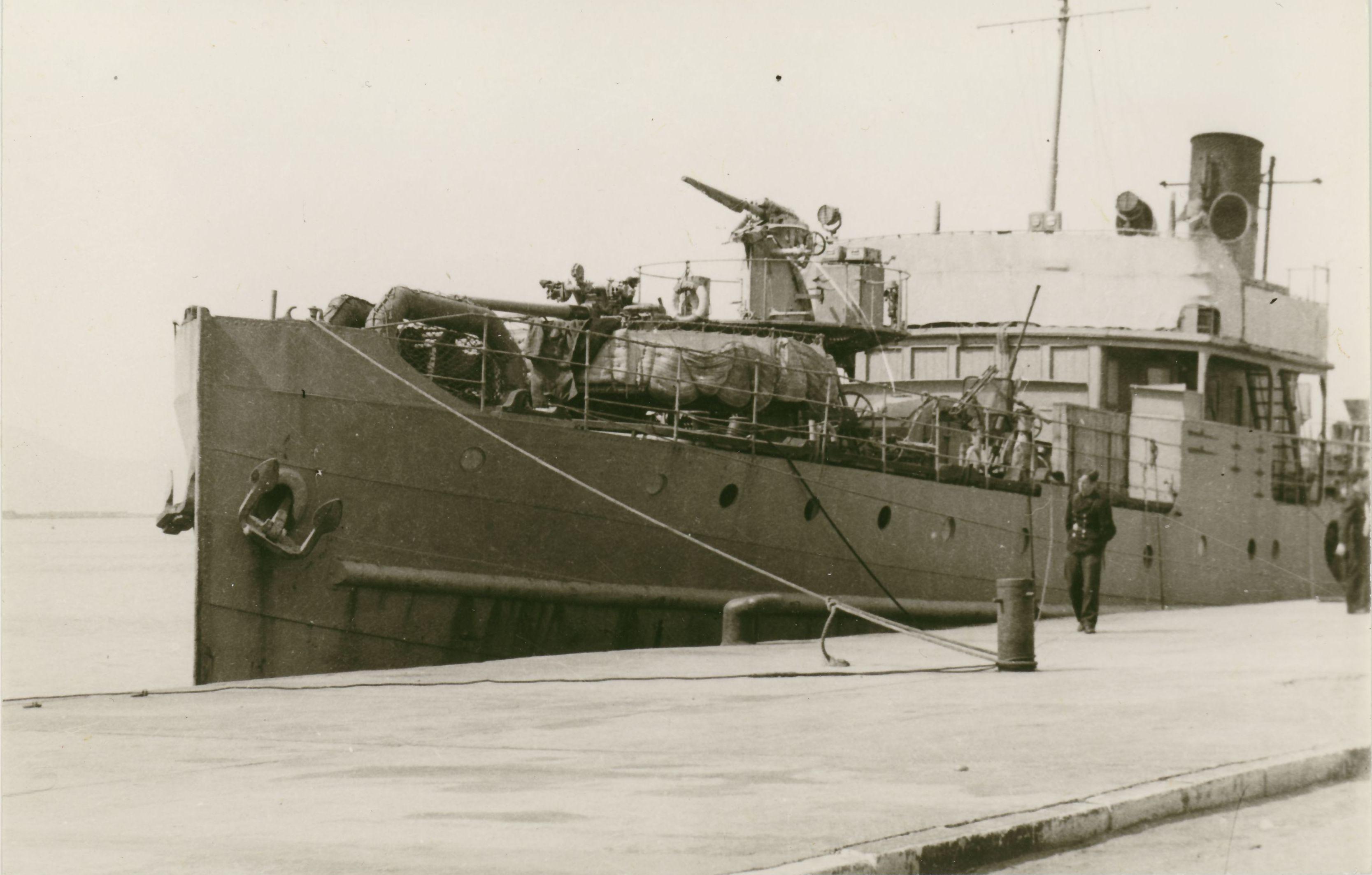 Το πλοίο που εμβόλισε και βύθισε το Υ-1