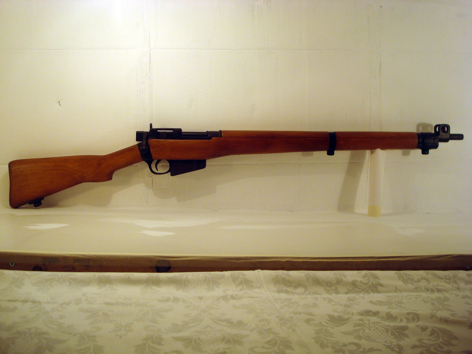 A Lee Enfield replica, made by Mr. Ilias Katsaros