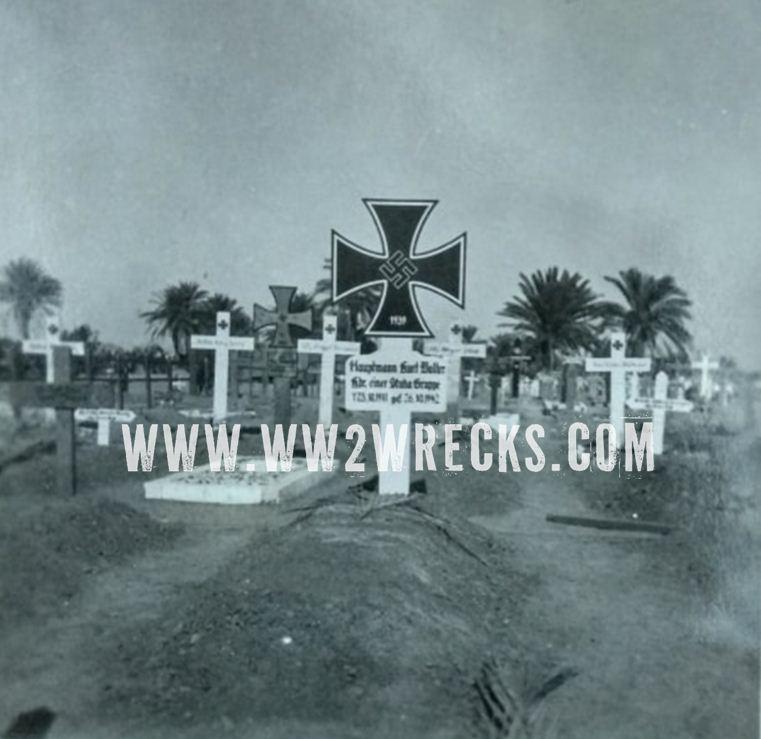 Γερμανικό νεκροταφείο στη Β. Αφρική. Φωτογραφία: Άγγελος-Στέφανος Μωραΐτης