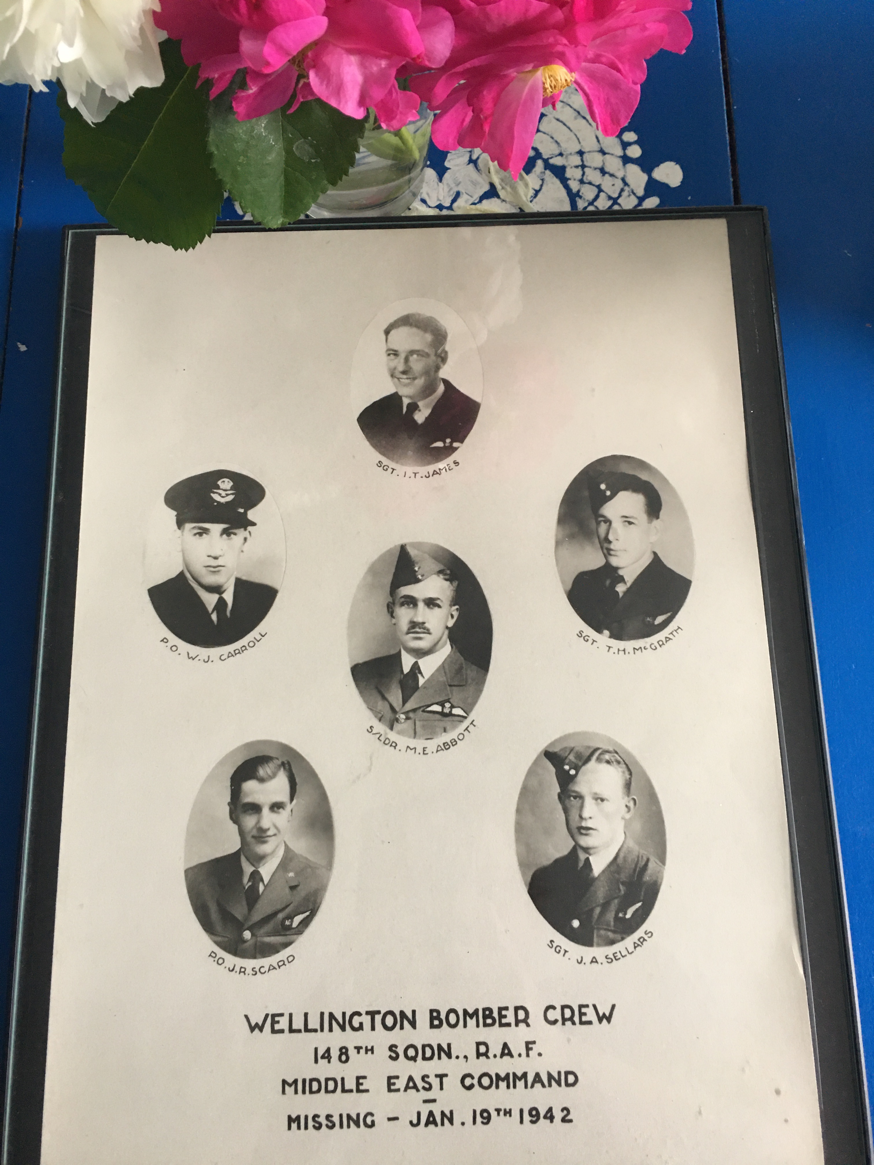 Sadly, all crew members were KIA and their remains were never found.