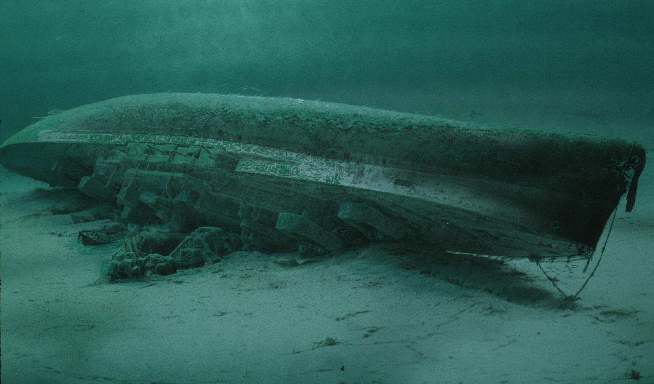 Royal Oak Seabed. HMS Royal Oak. Scapa Flow