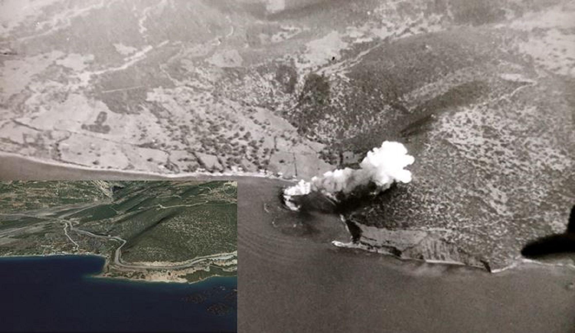 "The sinking of ""macedonia"" by Ju 87 ""Stuka"" bombers"