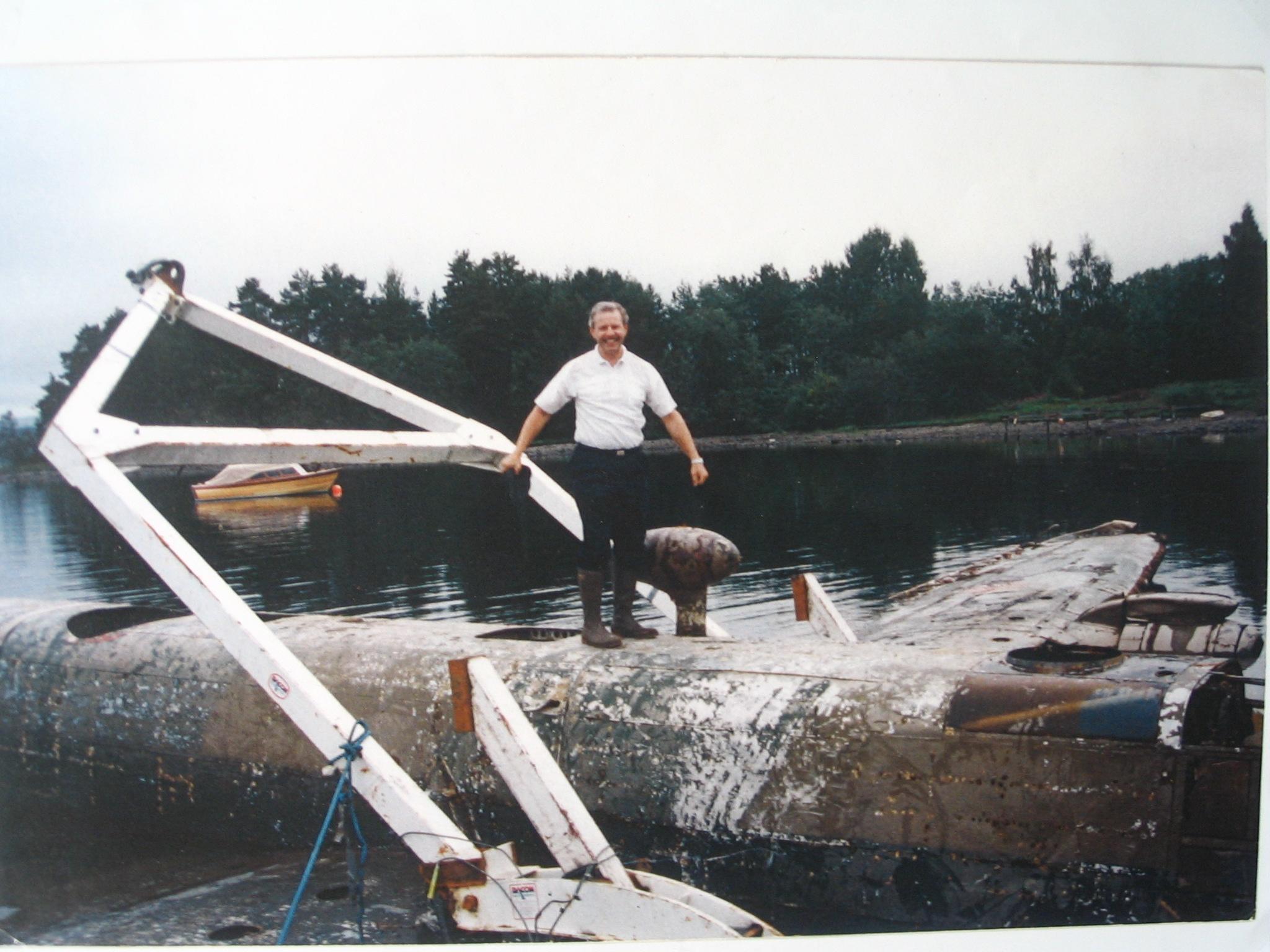 Halifax and Karl Norway SEP 1995